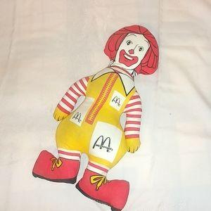 Other - Vintage Ronald McDonald doll